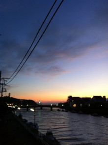 DIEGO BY THE RIVER-blog-1023_2_夕日