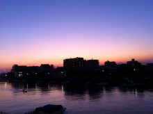 DIEGO BY THE RIVER-blog-1027_2_夕日