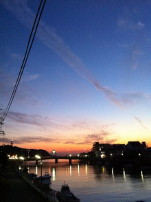DIEGO BY THE RIVER-blog-1028_夕日